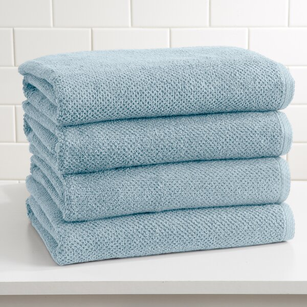 Marin Cotton Bath Towel (Set of 4) by Alwyn Home