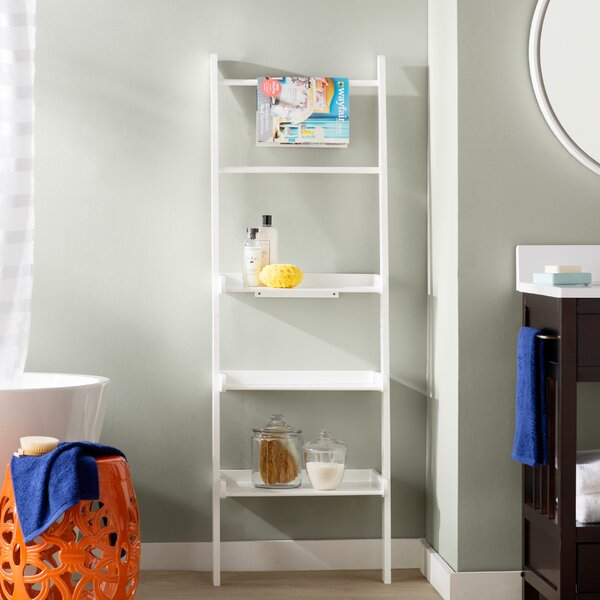 Vanbrunt 20 W x 59.25 H Bathroom Shelf by Mercury Row
