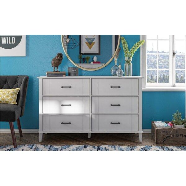 Hazelridge 6 Drawer Double Dresser by Novogratz