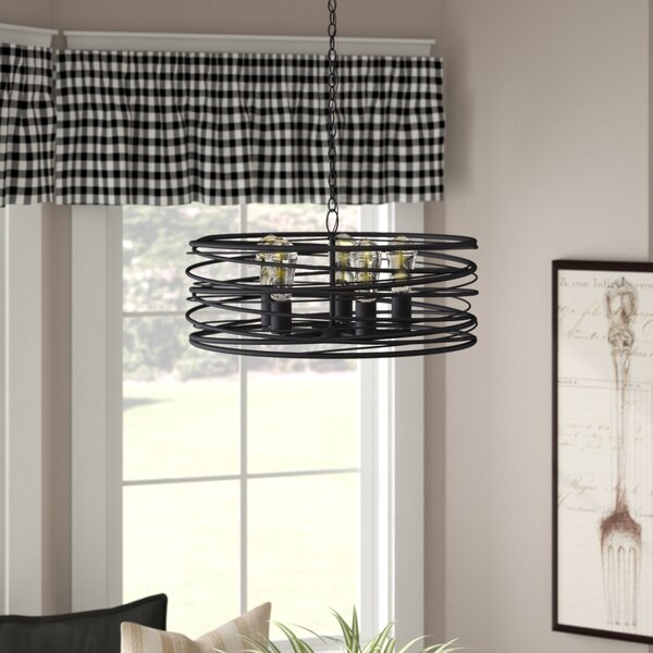 Poitras 5-Light Candle Style Drum Chandelier by Ivy Bronx Ivy Bronx