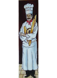 Vertical Chef Tile Wall Decor