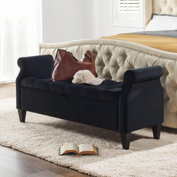 Superb Tamesbury Faux Leather Storage Bench By Andover Mills On Frankydiablos Diy Chair Ideas Frankydiabloscom