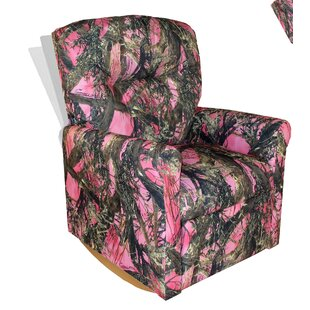 Kids Pink Camo Recliner | Wayfair