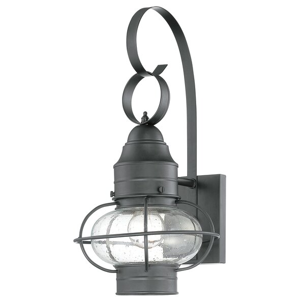 Francestown 1-Light Outdoor Wall Lantern by Bay Isle Home