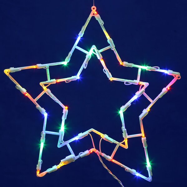 Star LED Window Décor by Vickerman