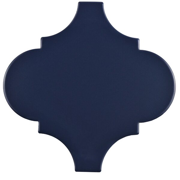 Marcello 8 x 8 Porcelain Field Tile in Lantern Blue by EliteTile