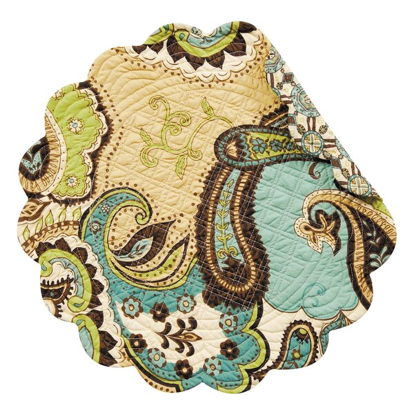 Stony Point Reversible Round Quilt Placemat (Set of 6) by Andover Mills