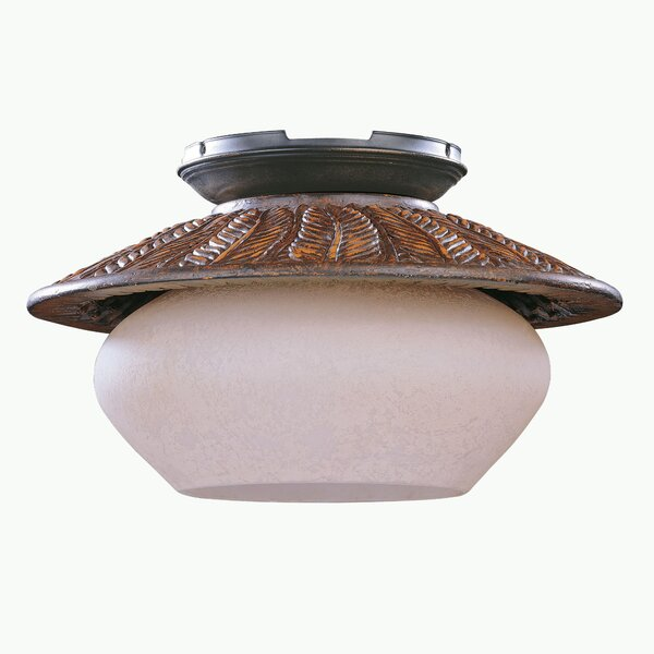 Fernleaf Breeze 1-Light Bowl Ceiling Fan Light Kit by Bay Isle Home