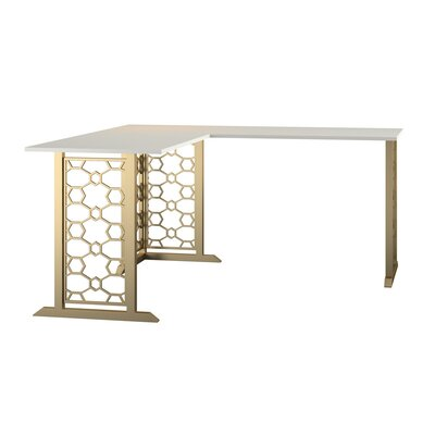 Gold Desks White Amp Gold Desks You Ll Love In 2020 Wayfair
