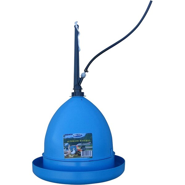 Automatic Hanging Poultry Fountain by Millside Ind
