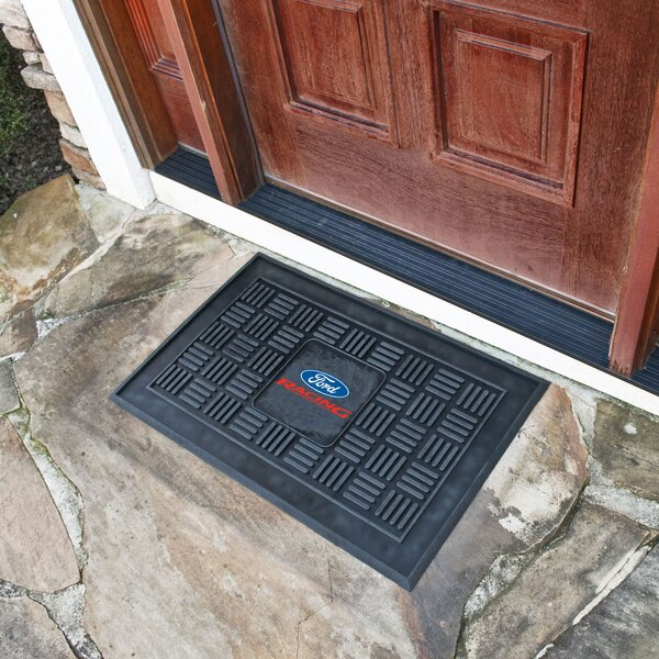 Ford - Ford Racing Medallion Doormat by FANMATS