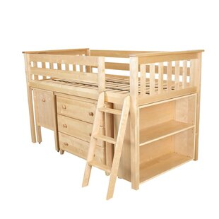 Low Loft Twin 4 Piece Bedroom Set By Max & Lily