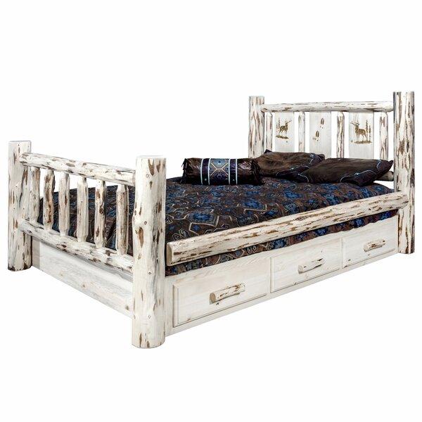 Antigo California King Storage Platform Bed by Millwood Pines