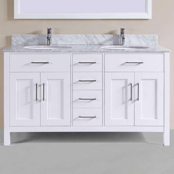 "60"" Double Bathroom Vanity Set by Belvedere Bath"