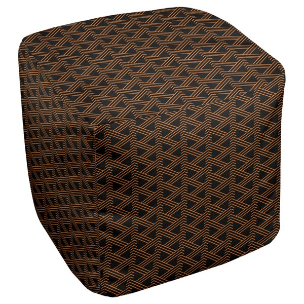 Festive Hol Pouf by East Urban Home East Urban Home