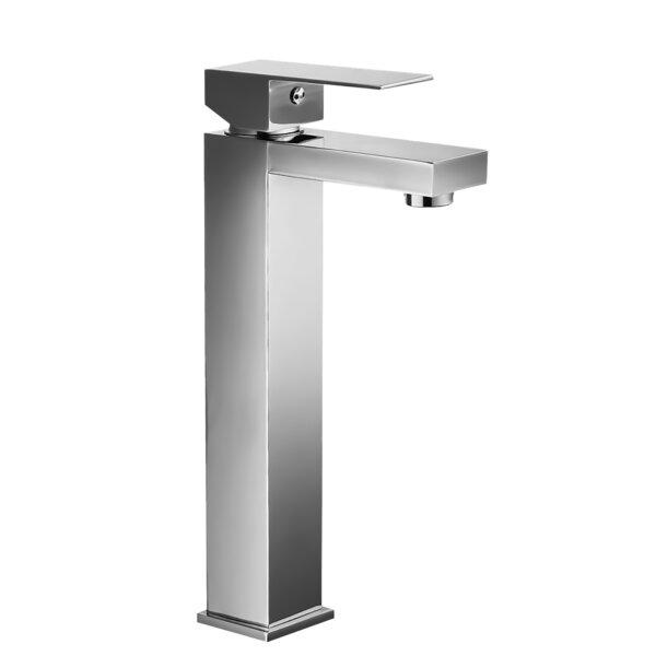 Rectangular Lever Handle Square Lavatory Vessel Sink Bathroom Faucet