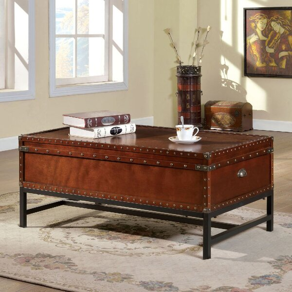 Jerrie Coffee Table with Storage by Charlton Home Charlton Home