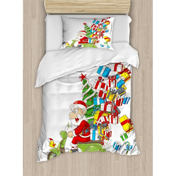 Christmas Duvet Set by Ambesonne