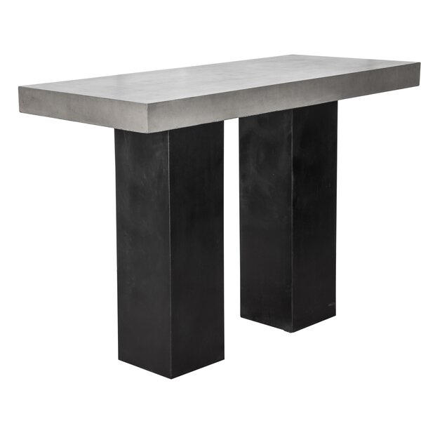 Marden Stone Bar Table by Orren Ellis Orren Ellis