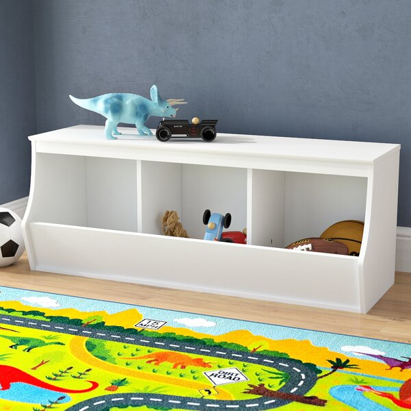 Leonor Stackable 3 Bin Storage Cubby by Viv + Rae