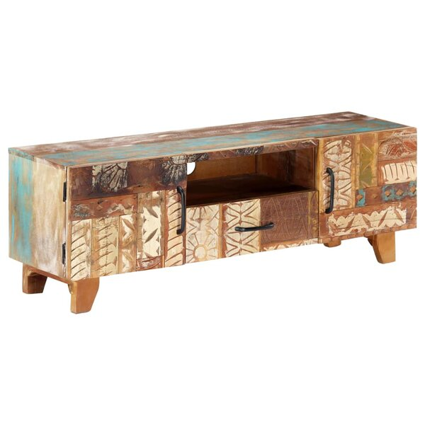 Ottery Solid Wood TV Stand For TVs Up To 48