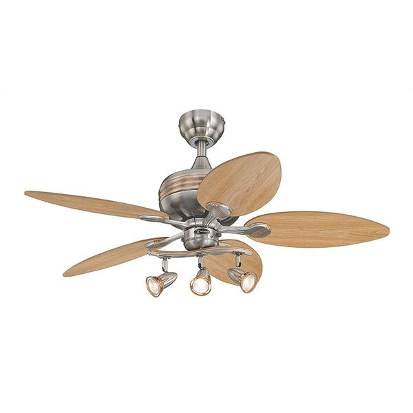 Castleford 44 Ridgeway 5 Blade Ceiling Fan by Andover Mills