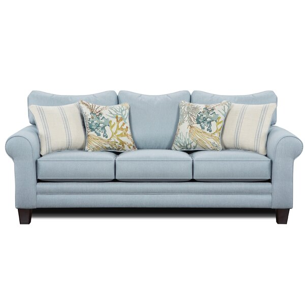 Champagne Sofa by Highland Dunes