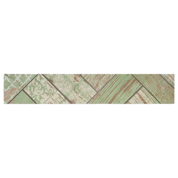 Heidi Jennings Patina Wood Table Runner by East Urban Home