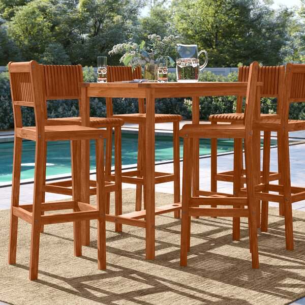 Brighton 7 Piece Bar Height Dining Set by Sol 72 Outdoor