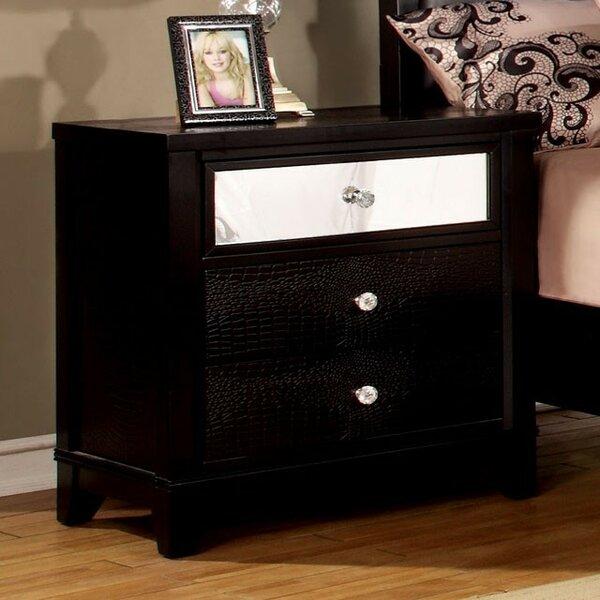 Boyd 3 Drawer Nightstand by Mercer41