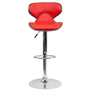 Marlon Adjustable Height Swivel Bar Stool  sc 1 st  Wayfair & Adjustable Bar Stools Youu0027ll Love | Wayfair islam-shia.org
