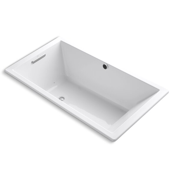 Underscore Bubblemassage 66 x 36 Soaking Bathtub by Kohler