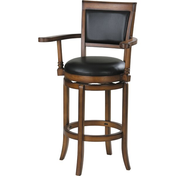 Cambridgeshire Swivel Bar Stool by Charlton Home