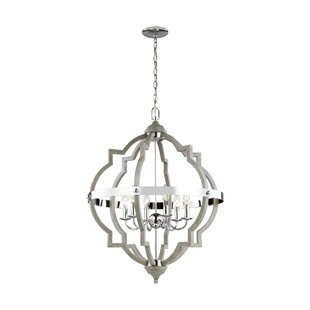 Modern contemporary chandeliers bennington 4 light geometric chandelier aloadofball Images