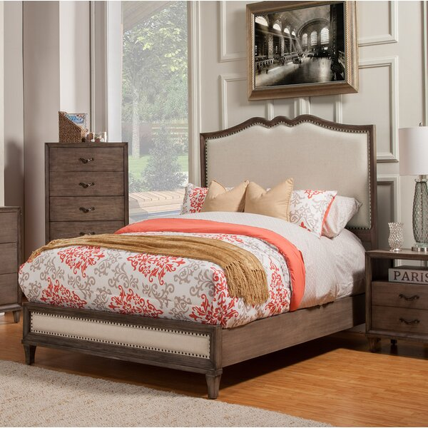 Calila Upholstered Standard Bed by Birch Lane™ Heritage