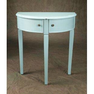 Metal Demilune Table   Wayfair