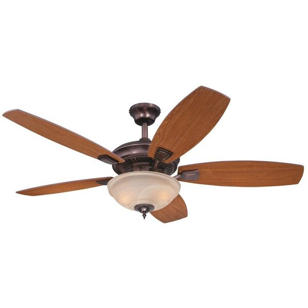 52 Tulsa 5 Reversible Blade Ceiling Fan by Westinghouse Lighting