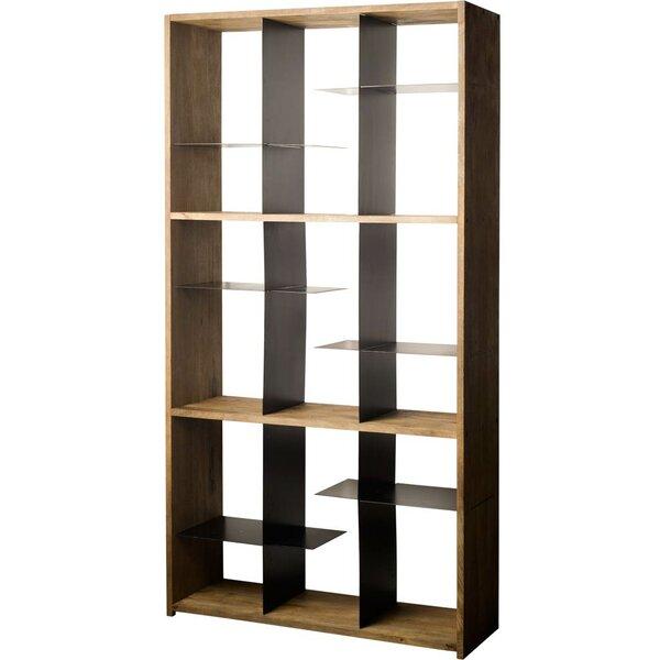 Abby Geometric Bookcase By Brayden Studio