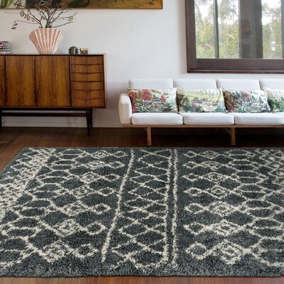 Gray Amp Silver Thick Pile Area Rugs You Ll Love In 2019