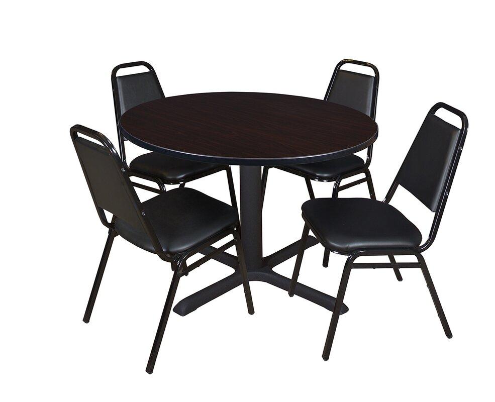 Regency Cain Round Breakroom Table Set & Reviews   Wayfair