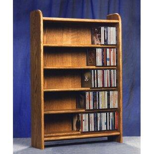 Best Price 500 Series 275 CD Multimedia Storage Rack ByWood Shed