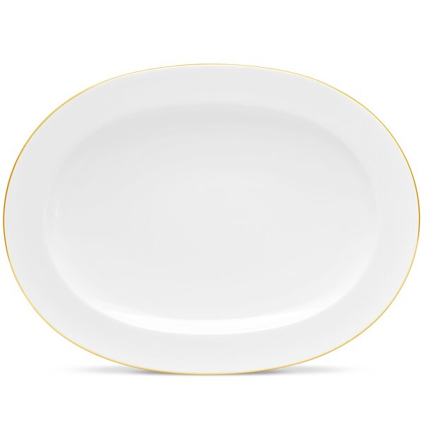Accompanist Oval Bone China Platter by Noritake