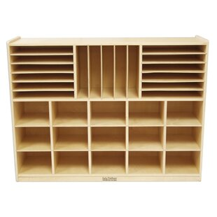 Best 32 Compartment Cubby with Casters ByOffex