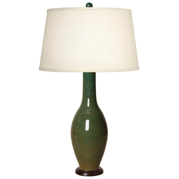 Aylor Bulb Vase Long Neck 32 Table Lamp by Canora