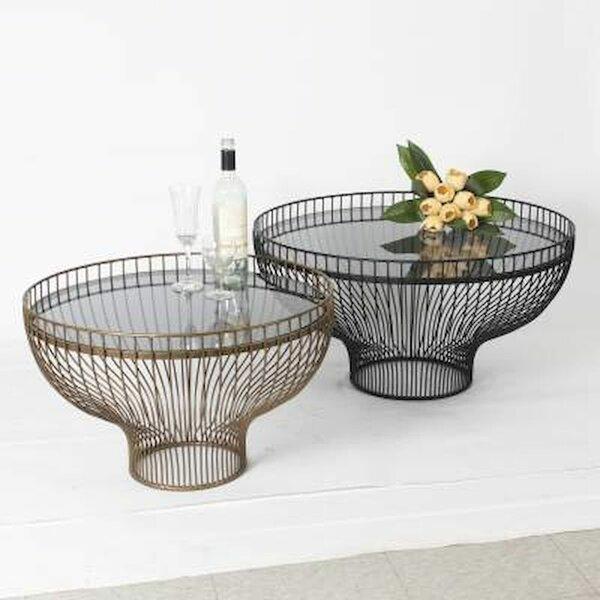 Pabai Pedestal 2 Bunching Tables By Brayden Studio