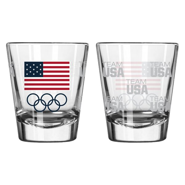Olympics 2 Oz. Shot Glass (Set of 2) by Boelter Brands