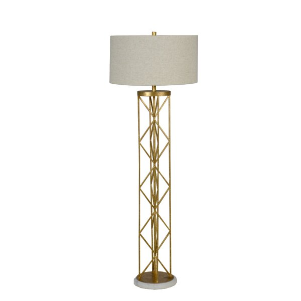 Riley 60 Floor Lamp by Gabby