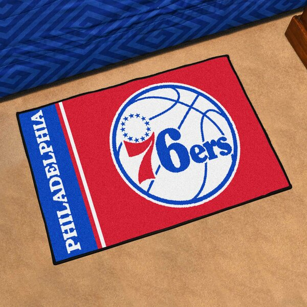 NBA Philadelphia 76ers Starter Mat by FANMATS