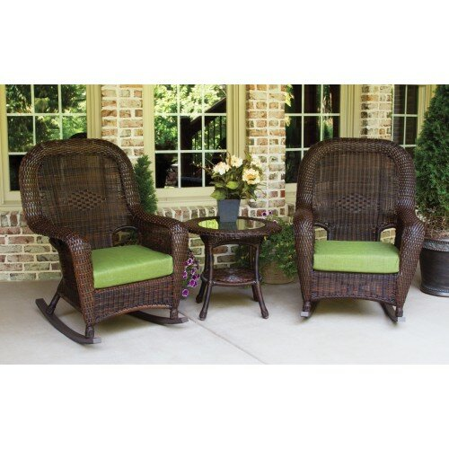 Fleischmann 3 Piece Conversation Set with Cushions by Darby Home Co