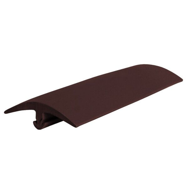 0.44 x 144 x 1.4 T-Molding in Brown by ROPPE